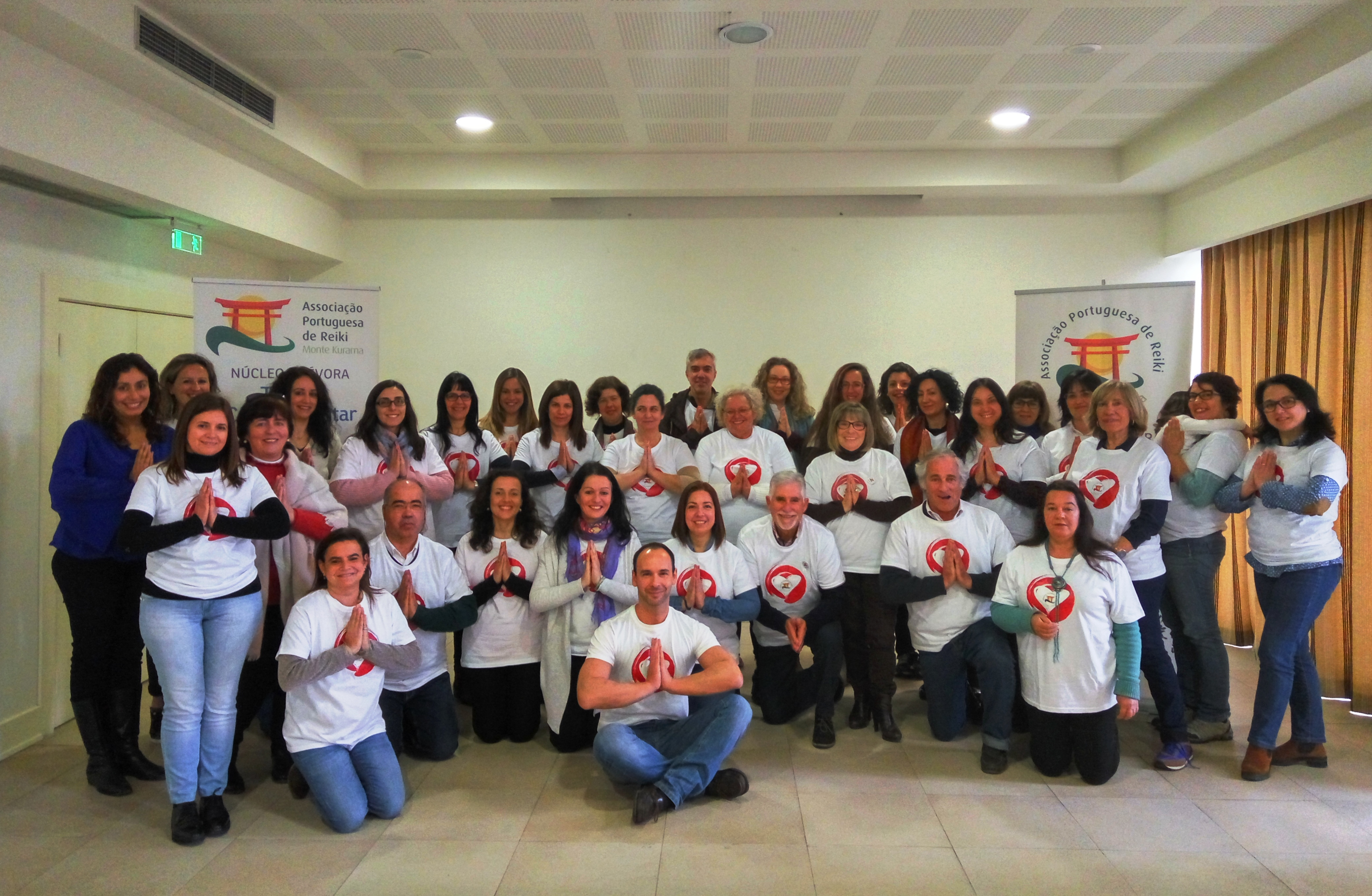 Curso e encontro de voluntariado de Reiki em Évora 2017