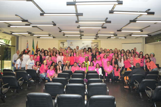 Reiki na USB Barcelona, Unidades Básicas de Saúde orientam sobre Outubro Rosa