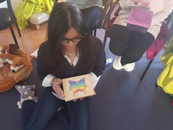 Activação da caixa de Reiki – Núcleo de Braga