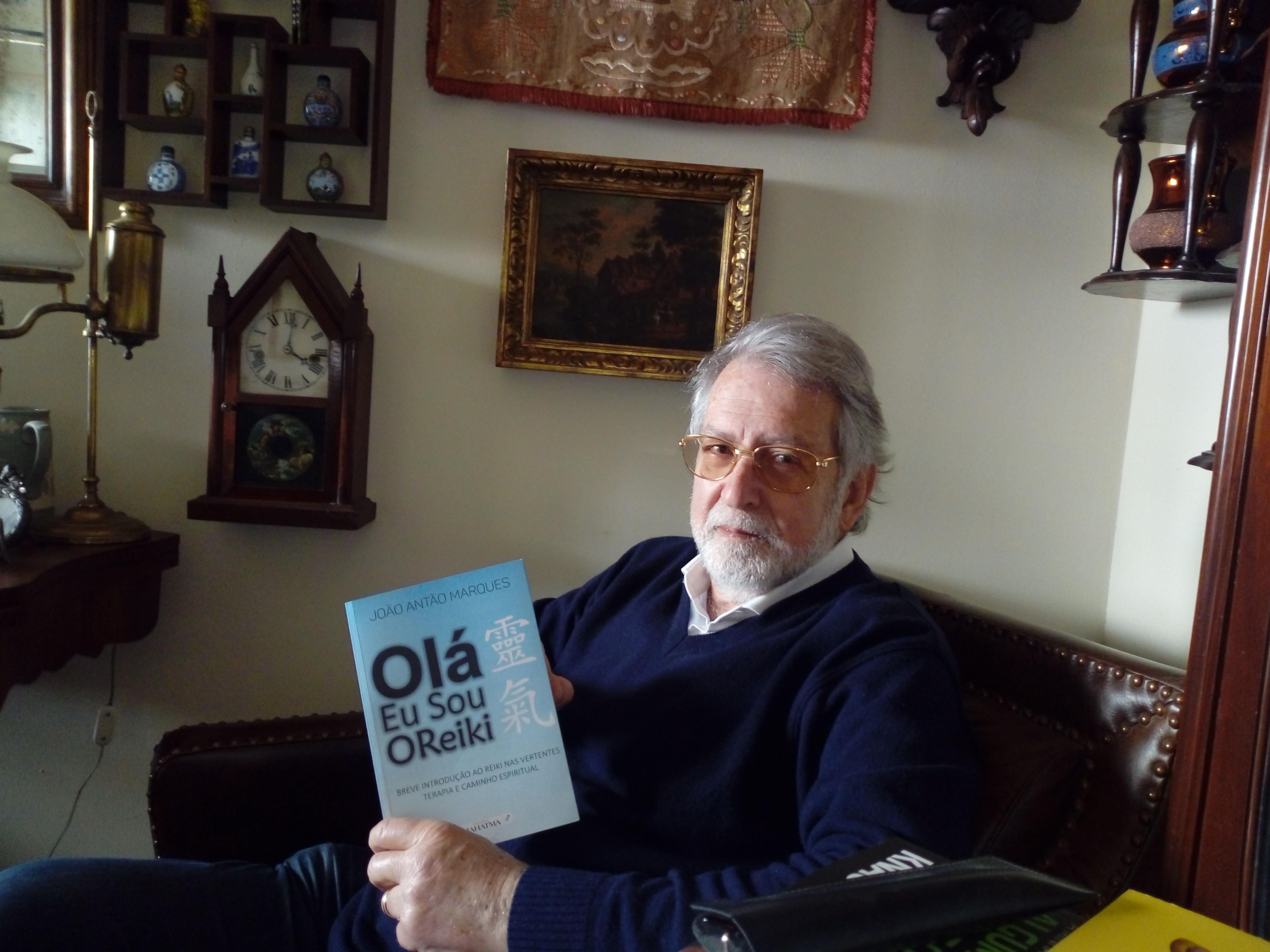 Entrevista a João Marques, autor do livro Olá Eu Sou o Reiki