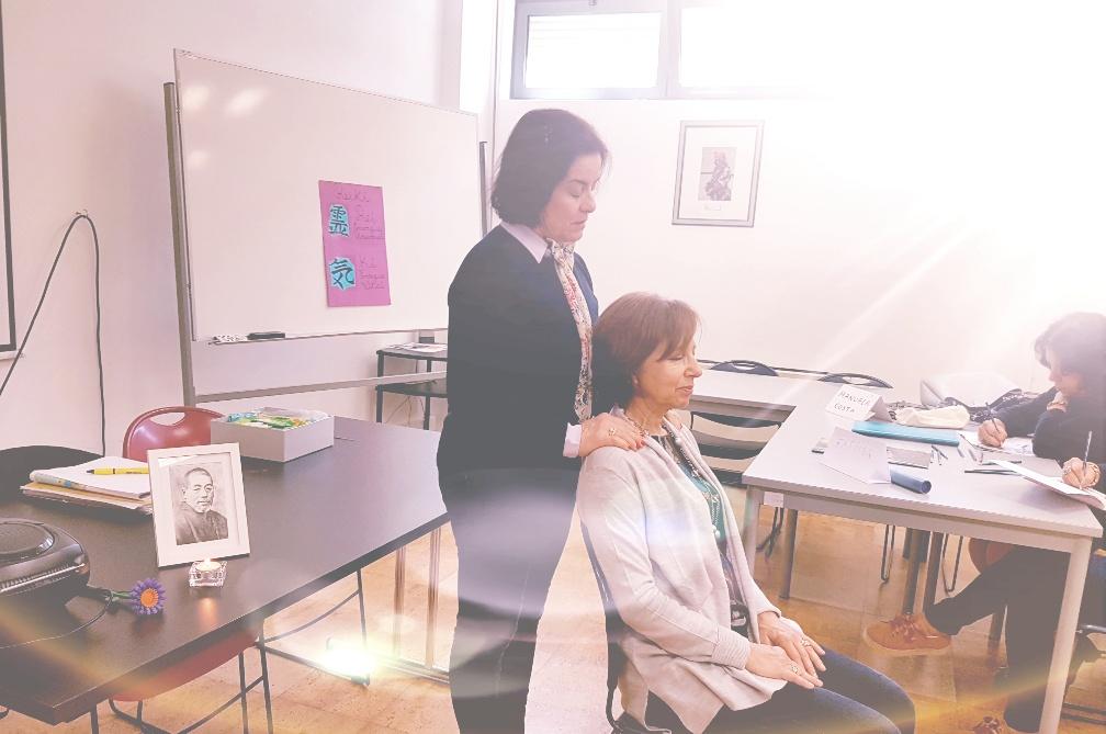 Aulas de sensibilização ao Reiki e Meditação na Universidade Sénior do Rotary Club