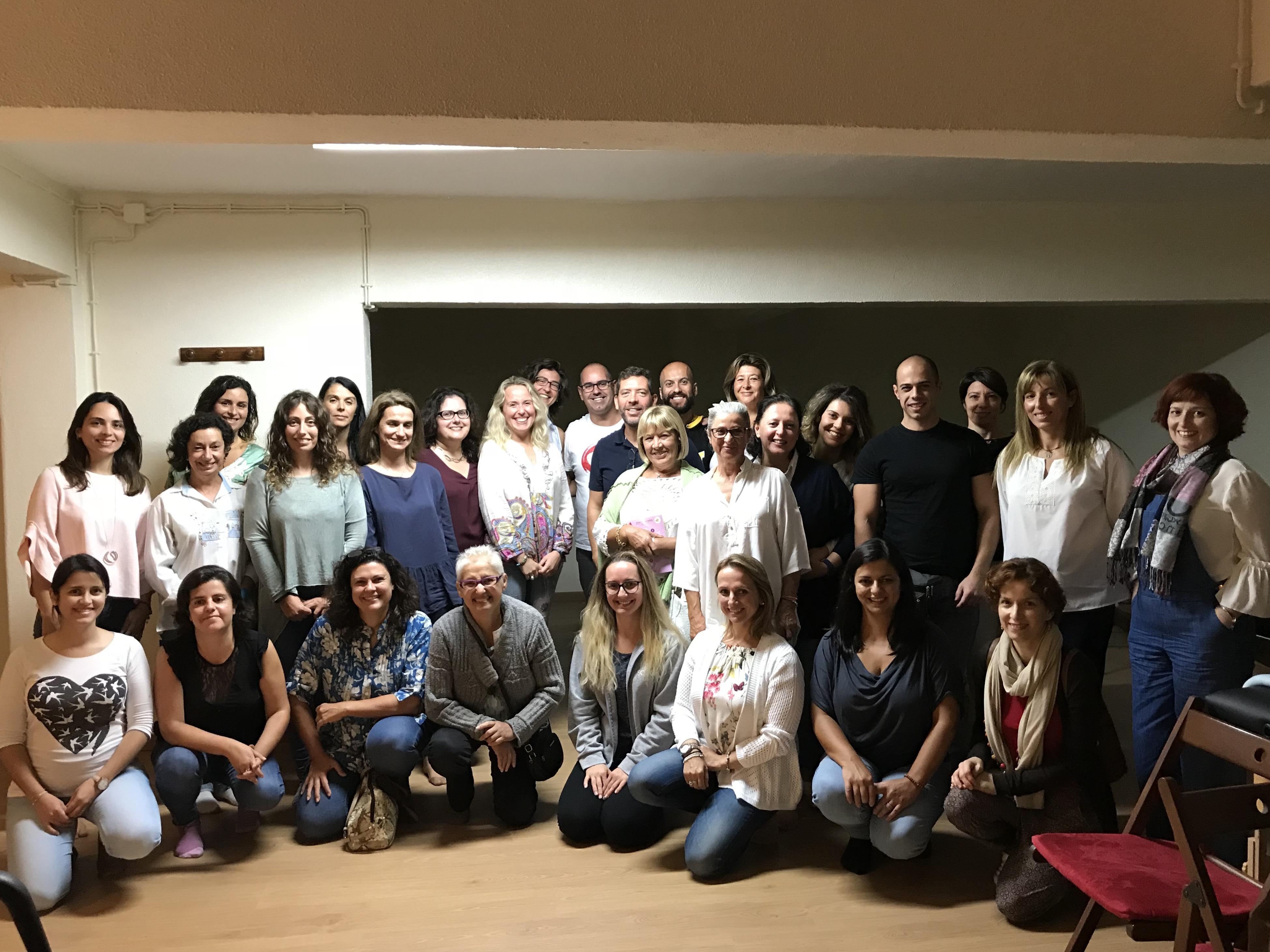 Workshop de autotratamento na Associação Portuguesa de Reiki