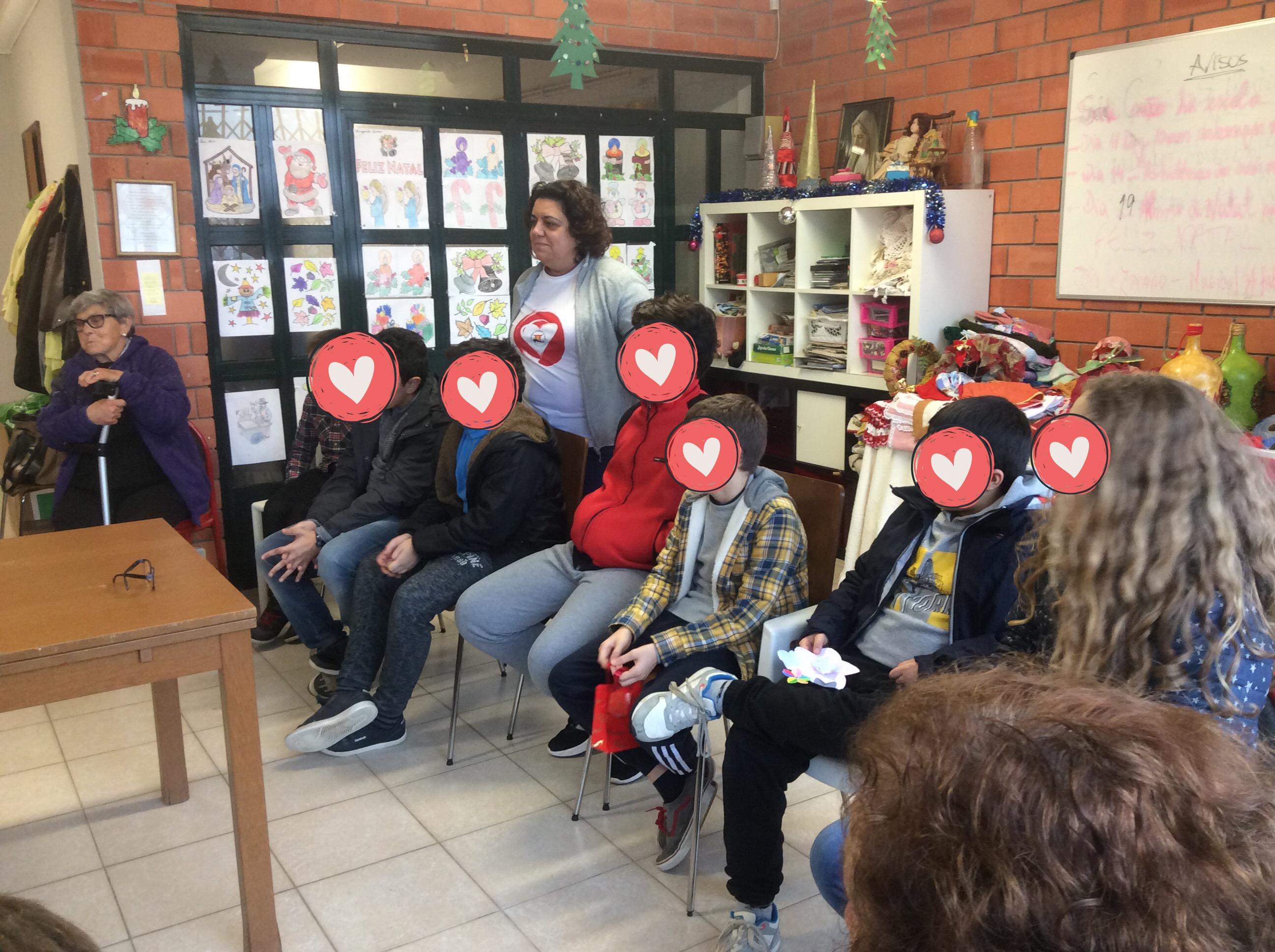 Partilha na Plataforma Solidaria de Alfena
