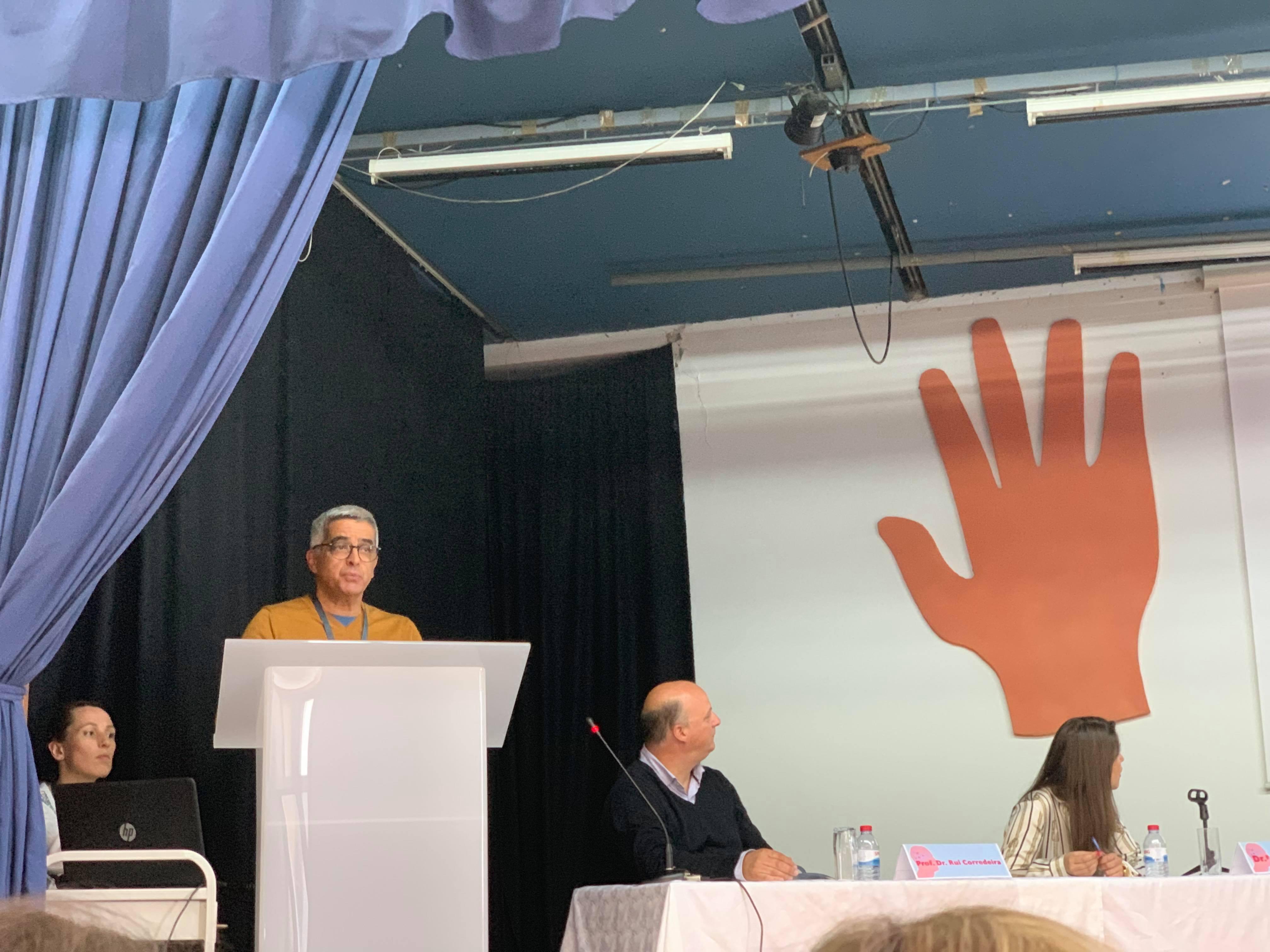Projeto inovador de Reiki na CERCIGUI apresentado no III Ciclo de Conferências da ALADI