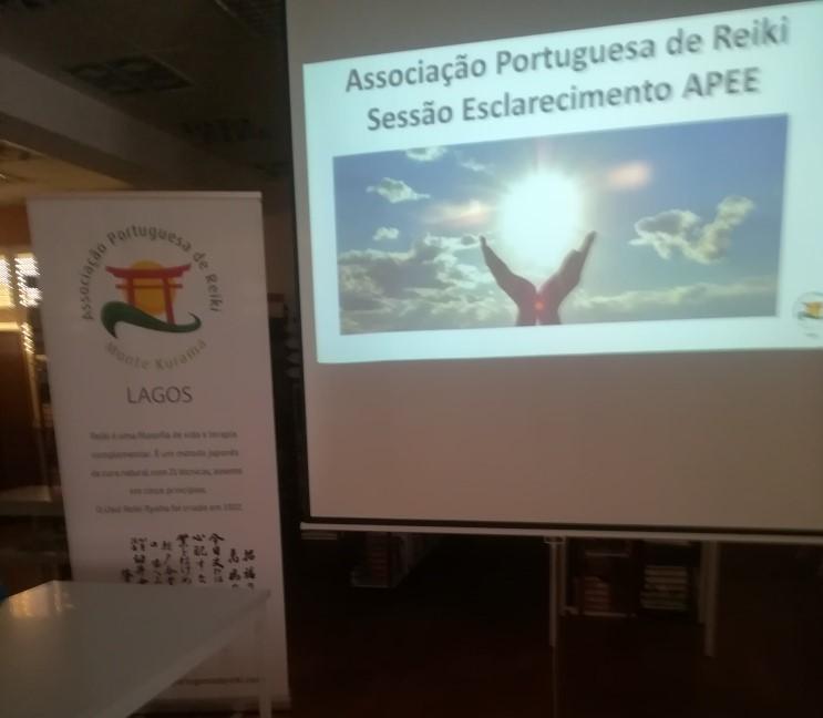 SESSÃO DE ESCLARECIMENTO DE REIKI APEE