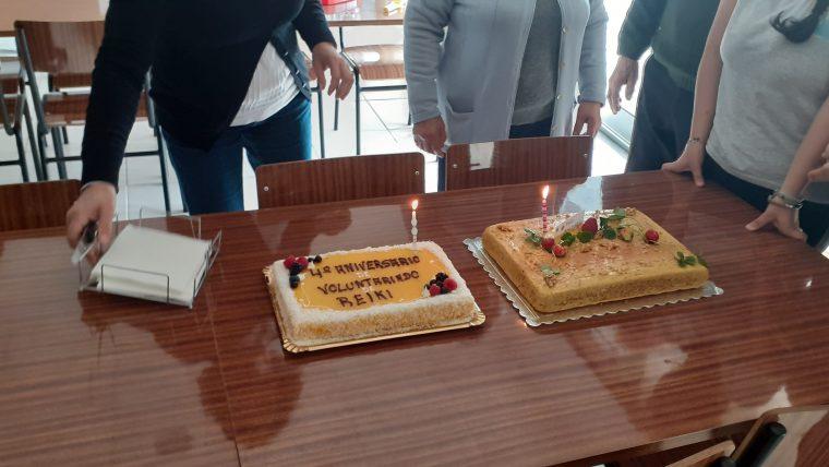 4º Aniversário de Voluntariado de Reiki em APDSMP