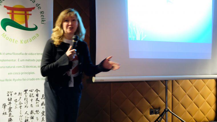 Testemunho de Laurinda Madaleno, oradora no Seminário Reiki na Saúde Mental