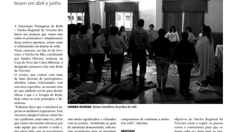 Notícia no Jornal Diário Insular pelo jornalista Mateus Rocha